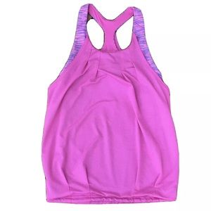 Ivivva ( Lululemon) Pink Tank Top Double Layer
